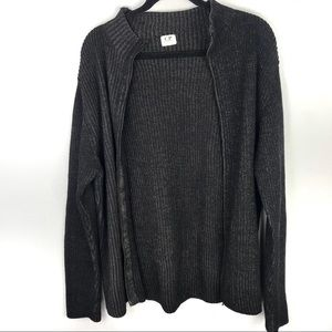 C.P. Company zip up wool sweater